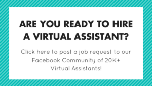 Ready to hire a Virtual Assistant