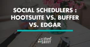 scheduling social media
