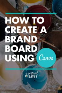 How to Create a Brand Board