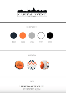 Branding Board for Capital Event Permits