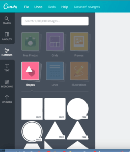 How to Insert Shapes in Canva