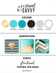 The Virtual Savvy Brand Board