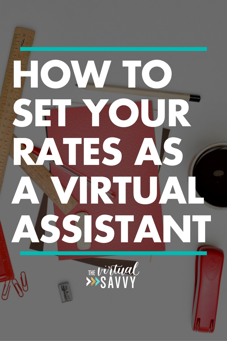 The Virtual Savvy - Virtual assistant business plan template