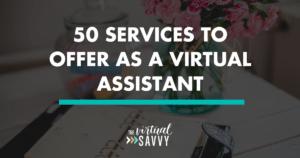 services virtual assistant