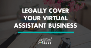 virtual assistant legal advice