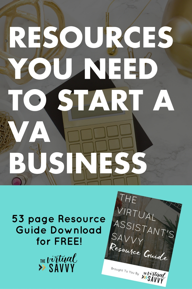 The virtual savvy im excited to share with you the virtual assistant resources and tools that i love and what helped me sell out my virtual assistant services and fandeluxe Choice Image