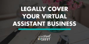 virtual assistant legal advice