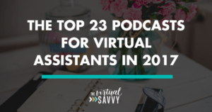 podcasts for virtual assistants