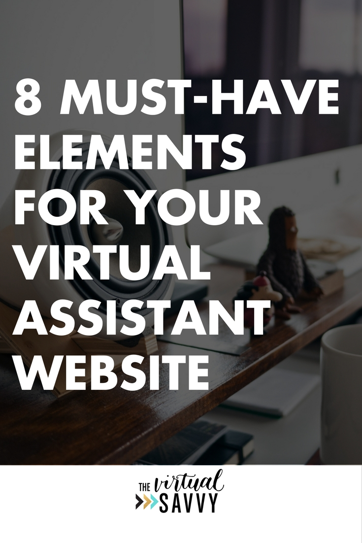The virtual savvy 8 must have elements for your virtual assistant website pronofoot35fo Choice Image