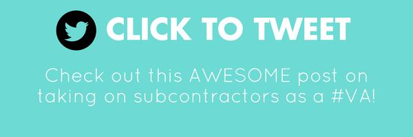 hiring subcontractors