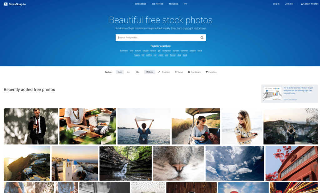 stock snap stocksnap.io free stock photos
