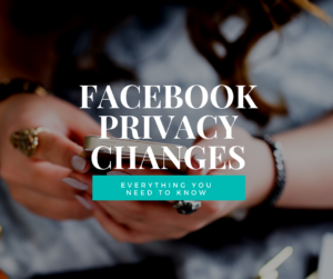 Facebook privacy changes - what you need to know