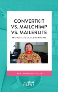 Should you use convertkit mailchimp or mailerlite?